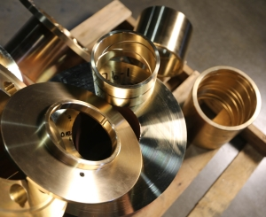C93200 SAE 660 bearing bronze custom machined components