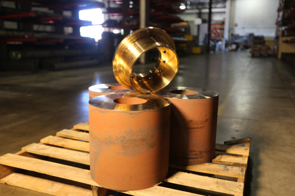 Custom Machined Bronze Components