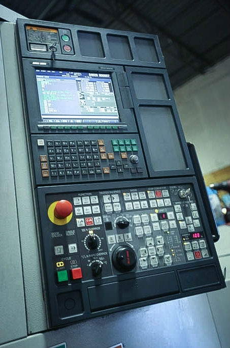 CNC Machine Operator Interface