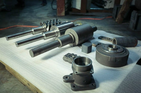 Continuous cast iron custom specialty components