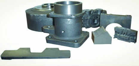 Custom casted continuous cast iron components