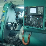CNC Machine for Precision Milling of Continuous Cast Iron and Bronze