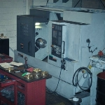 CNC Lathe in Metal Stock Supplier's Machine Shop